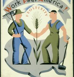Through the WPA, the government offered employment on public projects to millions of Americans during the 1930s.