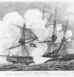 The 1812 victory of the USS Constitution