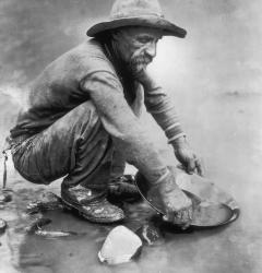 Prospectors rushed to California and Colorado