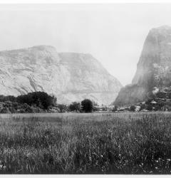 In 1913, Congress authorized dam construction in Yosemite's Hetch Hetchy Valley, despite objections of conservationists.
