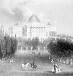 The Capitol, engraving, by Wilfred Jones, 1848