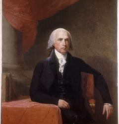 James Madison, by Gilbert Stuart, 1805–1807