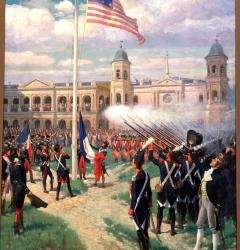 New Orleans celebrated the 1803 transfer