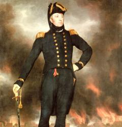 Portrait of Admiral George Cockburn, by John James Halls
