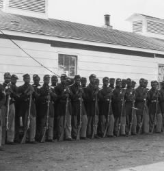Soldiers of the 4th U.S. Colored Infantry