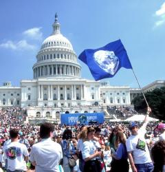 Earth Day, initiated in 1970, became an annual celebration