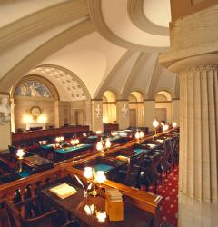 Old Supreme Court Chamber after restoration, 1993