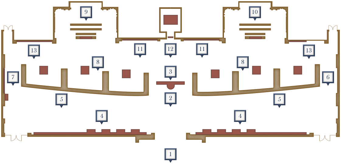 Exhibition Hall Floor Plan